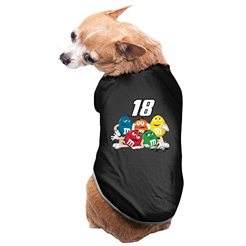 black-gold-front-runner-kyle-busch-checkered-flag-pet-dog-clothes-puppy-hooded