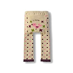 Wrapables Baby & Toddler Leggings, Little Pink Birdie - 24 to 36 Months