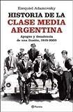 img - for HISTORIA DE LA CLASE MEDIA ARGENTINA (Spanish Edition) book / textbook / text book
