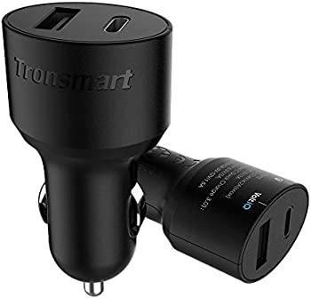 Tronsmart 30W Dual USB QC 3.0 Car Charger