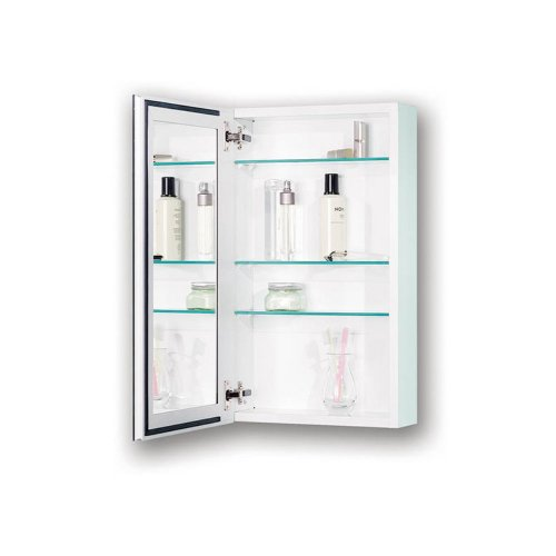 Broan-Nutone 72Wh244D 25-Inch Gallery Recessed Medicine Cabinet With Beveled Mirror, White front-601966