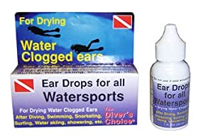 Ear-Dry Swimmers Ear Care Drops Drying Aid Swim Swimming Swimmer Snorkel Snorkeling Dive Diving Scuba Divers Kayak Jet Ski Skiing Boat Boating Sail Sailing Pool