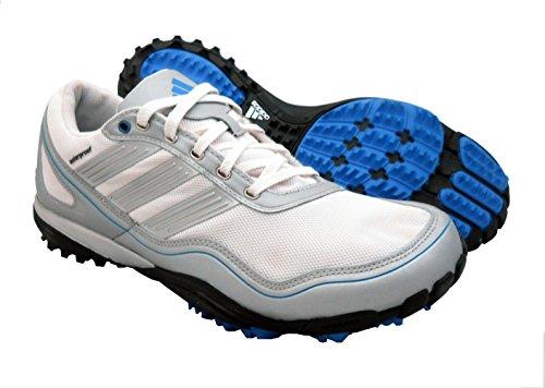 adidas Men's Puremotion Golf Shoe,White/Metallic