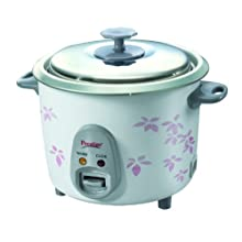 Prestige PRWO 1.4-2 600-Watt Electric Rice Cooker