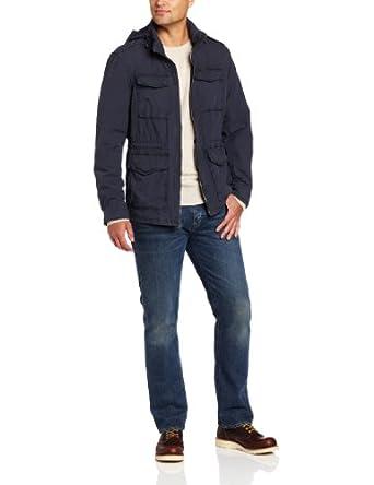 李维斯旗下 Dockers Men's 4 Pocket Field 男士全棉休闲夹克折后$63.99