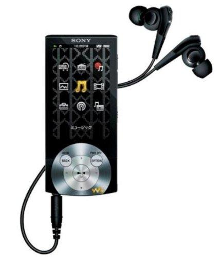 SONY ウォークマン Aシリーズ <メモリータイプ> 16GB ブラック NW-A845/B