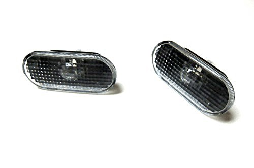 Ssrracing-High Quality Car Styling Smoke Side Marker Light Rough Lens For Volkswagen Passat B5 / B5.5 & VW MK4 Golf Bora Jetta Smoke Side Marker Light ROUGH-Free Shipping (Mk3 Side Marker compare prices)