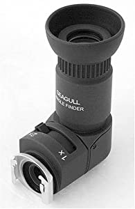 Seagull 1x-2x Right Angle Finder for Canon, Nikon, Pentax, Minolta, Fuji, Olympus and Leica SLR cameras