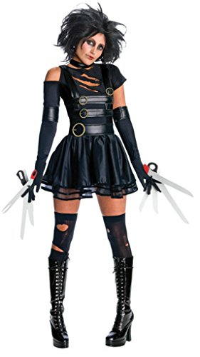 Rubies Womens Fancy Dress Miss Scissorhands Edward Tim Burton Halloween Costume
