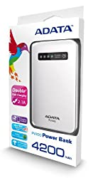 Adata PV100 4200mAH Power Bank (White)