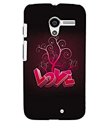 FUSON 3D Designer Back Case Cover for MOTOX D9857