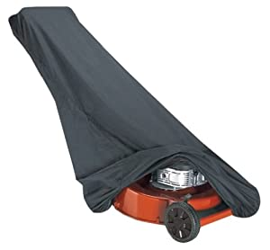 Classic Accessories 73117 Black Lawn Mower Cover from Classic Accessories