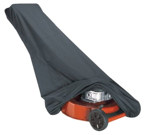 Classic Accessories 73117 Black Lawn Mower Cover (Push Mower Cover compare prices)