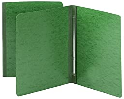 Smead Pressboard Report Cover, Metal Prong with Compressor, Side Fastener, 350 Sheets/3\