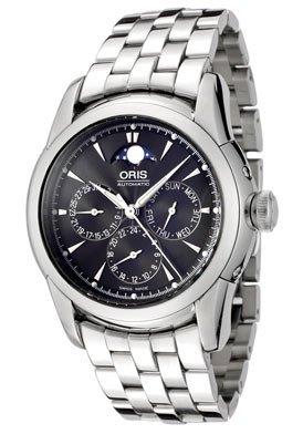 Oris Artelier Complication Chronograph Mens Watch 581-7546-4054MB