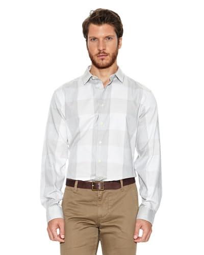 Dockers Camicia Uomo Refined Oxford [Grigio]