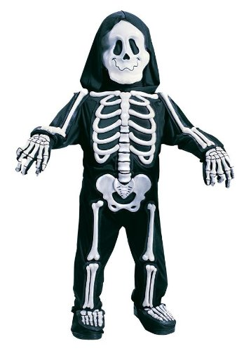 Costumes For All Occasions Fw1523Ts Skelebones Toddler 3T-4T