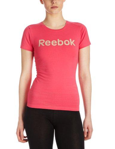 Reebok Women's T-Shirt - Pink, Medium