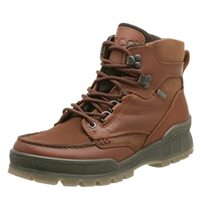 ECCO Men's Track II Mid Gore-Tex Boot,Bison,40 EU (US Men's 6-6.5 M)