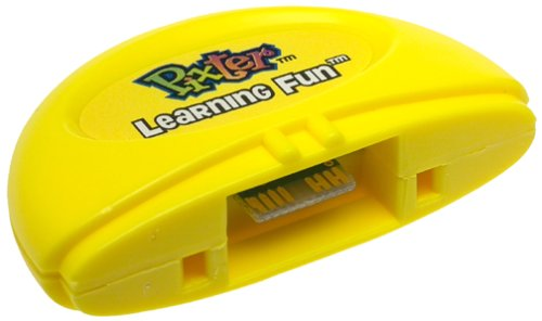 Pixter Learning Fun ABC 1+2+3 Software Cartridge Black & White