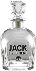 Jack Daniels Licensed Barware Jack Lives Here Decanter