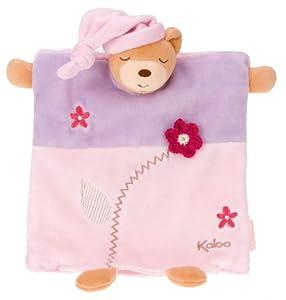 Kaloo - Mantita de arrullo con marioneta osito, color rosa (1099612527) marca Kaloo
