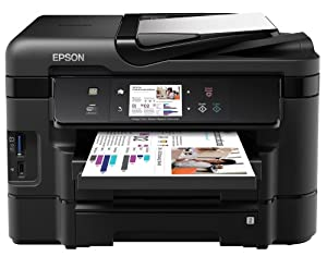 Epson WorkForce WF-3540DTWF 4-in-1 Printer with Duplex and Extra Tray