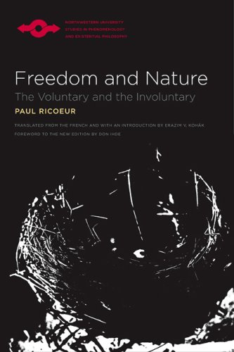 Freedom and Nature: The Voluntary and the Involuntary (SPEP), PAUL RICOEUR