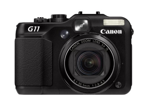 Canon PowerShot G11 Digital Camera (High Sensitivity 10.0 MP, 5x Zoom, 2.8 Inch Vari-Angle LCD)
