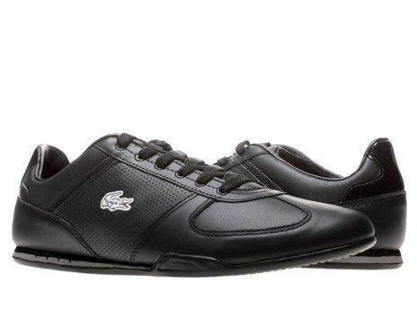 e3c3401cb906b2 Lacoste Garonne CI SPM Mens Casual Shoes 7-24SPM121402H Black 9 M US