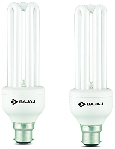 Bajaj Retrofit Ecolux T4 Linear B22 25 W CFL Bulb (Cool Day Light, Pack of 2) Image
