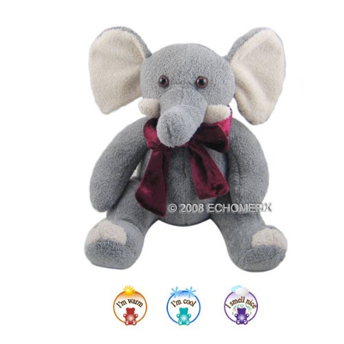 Aroma Wild Elephant - Aromatherapy Stuffed Animal - Hot And Cold Therapy