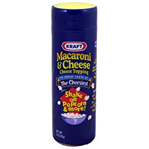 Kraft Macaroni & Cheese Topping 3 oz 12CT