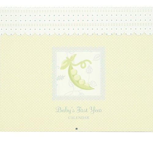 Sweet Pea Baby's 1st Year Calendar Keepsake
