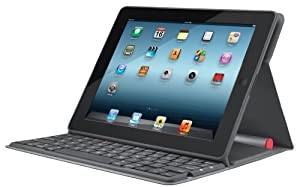 Logitech Solar Keyboard Folio for iPad 2 and iPad (3rd/4th generation) (920-003907)