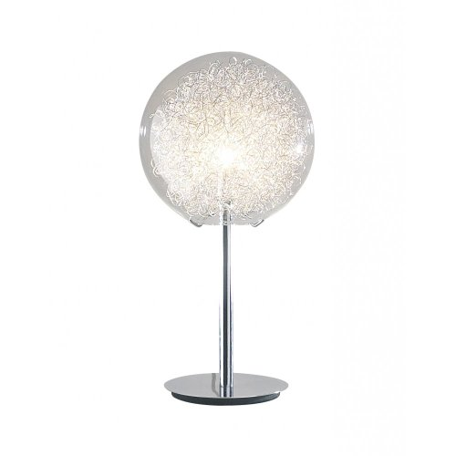 Fabien Table Lamp in Polished Chrome