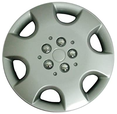 CCI IWC411-15S 15 Inch Clip On Silver Finish Hubcaps - Pack of 4