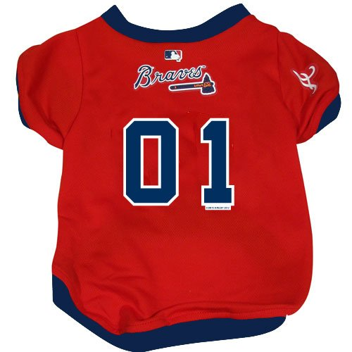 Hunter MFG Atlanta Braves Dog Jersey, Small at Amazon.com