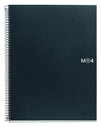 basicos-mr-2108-cahier-4-couleurs-graphite-a4-160-feuilles-lisse