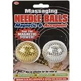 2 X Spiky Massaging Massage Needle Stress Palm Balls