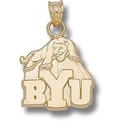 Brigham Young University BYU Cougar - 14K Gold by Logo Art