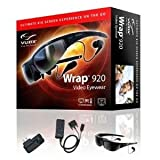 Vuzix Corp Wrap 920 VR Bundle, Wrap Video Eyewear, Wrap VGA Adapter, Wrap Tracker 6TC