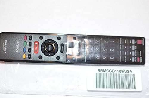 Sharp LED TV Remote Control GB118WJSA Supplied with models: LC-60EQ10 LC-60EQ10U LC-60SQ10 LC-60SQ10U LC-60SQ15 LC-60SQ15U LC-60SQ17 LC-60SQ17U LC-60TQ15 LC-60TQ15U LC-70EQ10 LC-70SQ10 LC-70SQ10U LC-70SQ15 LC-70SQ15U LC-70SQ17 LC-70SQ17U LC-70TQ15 LC-70TQ15U LC-70UQ17 LC-70UQ17U (Tv Led 3d Sharp compare prices)