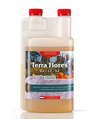 1 Liter - Terra Flores - Soil Bloom Nutrient - CANNA 9110001 by CANNA