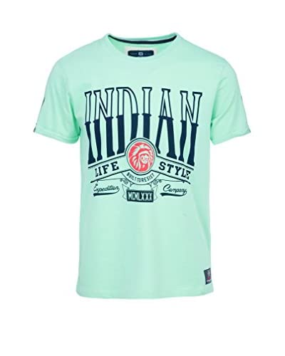 THE INDIAN FACE T-Shirt Manica Corta [Verde]