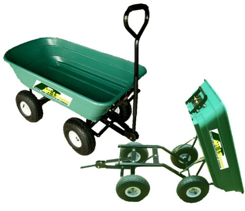 Garden Tipping Trolley Cart Wheelbarrow