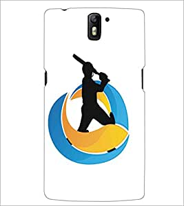 ONE PLUS ONE SPORTS Designer Back Cover Case By PRINTSWAG