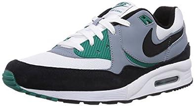 Nike Mens Air Max Light Essential WHITE/Mystic Green/Magnet Grey/Black 631722-103 8