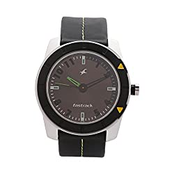 Fastrack Analog Grey Dial Mens Watch - NE3015AL02