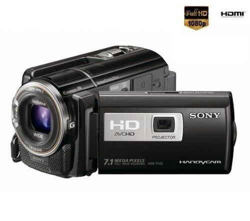SONY HDR-PJ50V High Definition Camcorder - black